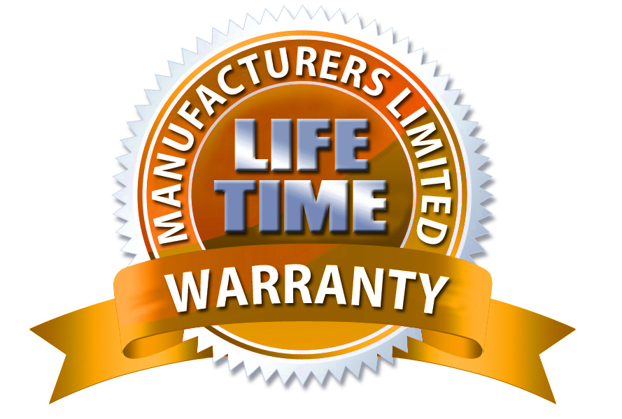 LIFETIME WARRANTY SEAL TRED