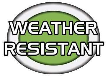 carcover weather resistant logo